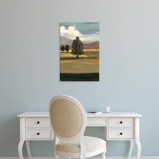 Easy Art Prints Norman Wyatt's 'Mountain Range II' Premium Canvas Art