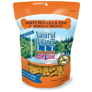 Natural Balance Small Breed Sweet Potato & Fish Treats 8oz
