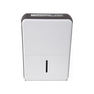 """Midea MDP70SR71-A  15"""" Wide 70 Pint Energy Star Certified Freestanding Dehumidifier with Dual Speeds - White"""
