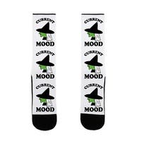 Current Mood Witch US Size 7-13 Socks by LookHUMAN