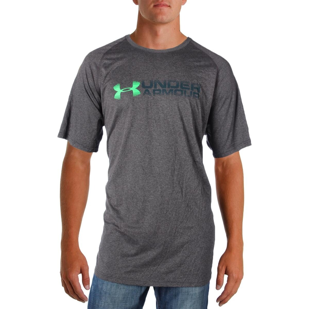 c4ffcadc7 Shop Under Armour Mens Graphic T-Shirt Heat Gear Loose Fit - 2XL - Free  Shipping On Orders Over $45 - Overstock - 22731654