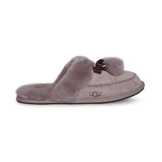 Ugg Womens Hafnir Leather Closed Toe Slip On Slippers