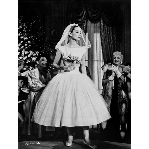 Audrey Hepburn Wedding Dress