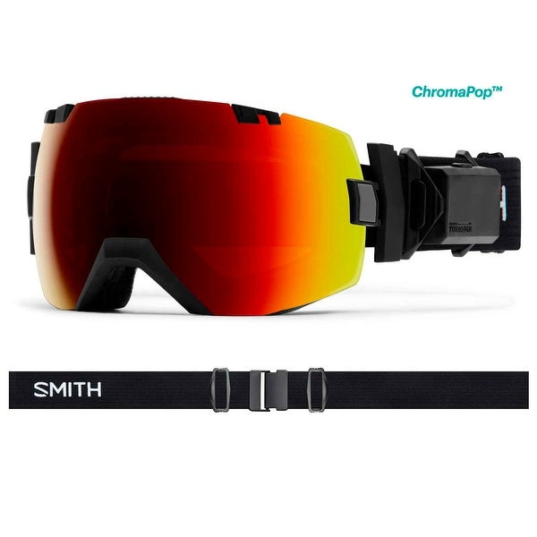 1a5450448d Smith Optics 2017 18 I Ox Turbo Fan Goggle Black Frame Chromapop