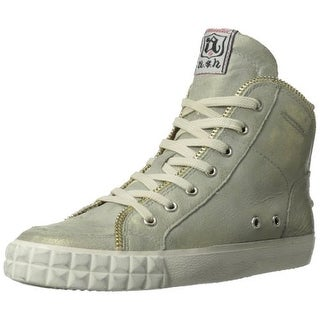 ASH Womens Shake Leather High Top Fashion Sneakers - 40m