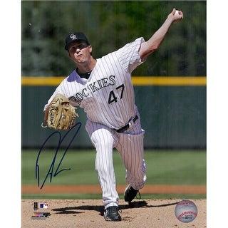 Drew Pomeranz Autographed Colorado Rockies 8x10 Photo