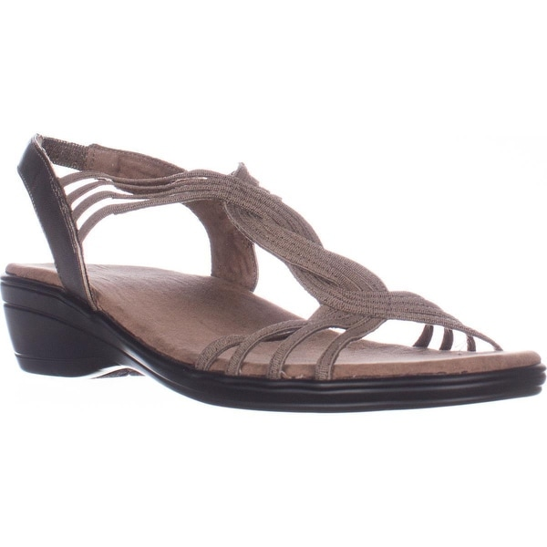 Easy Street Natara Slingback Sandals, Pewter