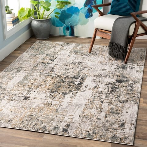 Martin Contemporary Abstract Area Rug