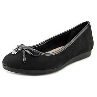 Giani Bernini Odeysa Women  Round Toe Synthetic Black Flats