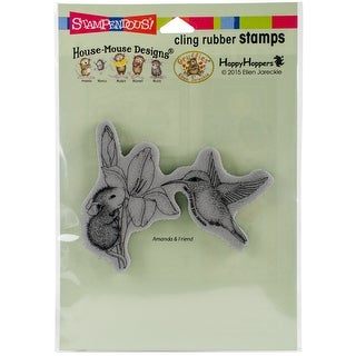 "Stampendous House Mouse Cling Stamp 6.5""X4.5""-Iris Climber"