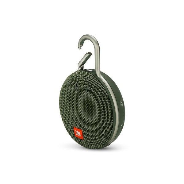 JBL Clip 3 Green Portable Bluetooth Speaker