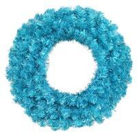 "36"" Sky Blue Wreath Dural 100TL Lts 320T"
