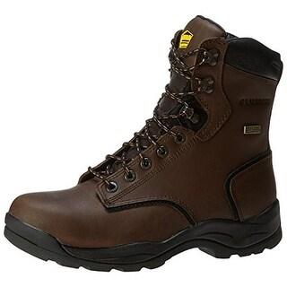 Lacrosse Mens Leather Contrast Trim Work Boots - 9 medium (d)