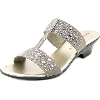 Karen Scott Eddina Women Pewter Sandals