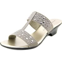 Karen Scott Eddina Women Pewter Sandals