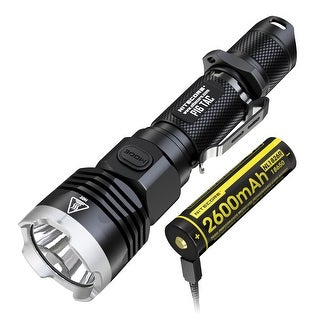 NITECORE P16 TAC 1000 Lumen Tactical Flashlight with USB Rechargeable Battery
