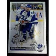 Signed Krushelnyski Mike Toronto Maple Leafs 1992 Upper Deck Hockey Card autographed
