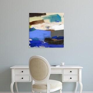 Easy Art Prints Karina Bania's 'Where We Meet' Premium Canvas Art