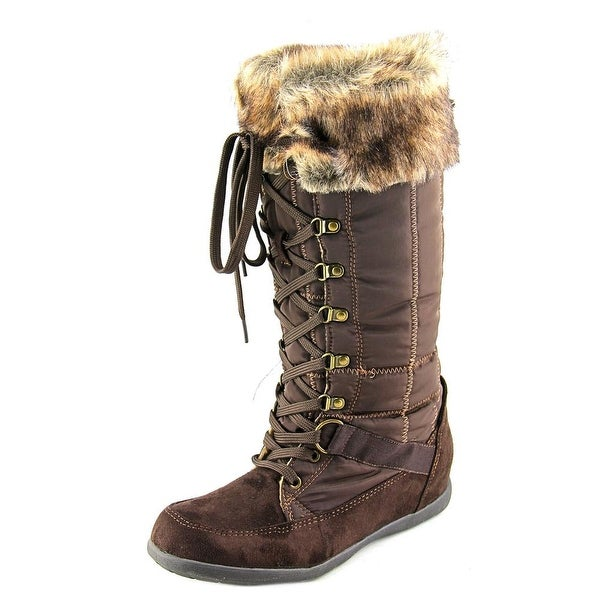 Zigi Soho Madalyn Women Round Toe Synthetic Brown Winter Boot