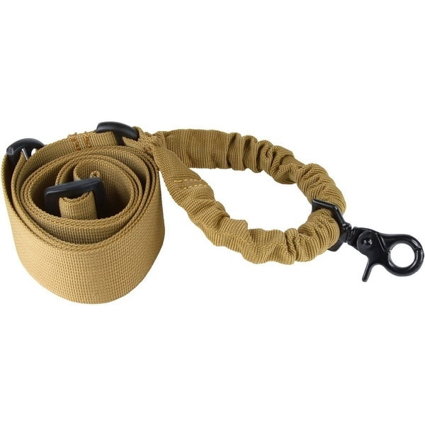 ONE POINT BUNGEE RIFLE SLING (TAN)