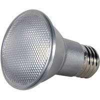 Satco S9406 Par20 LED Beam Spread Medium Base Light Bulb, 7 Watt, 120 Volt