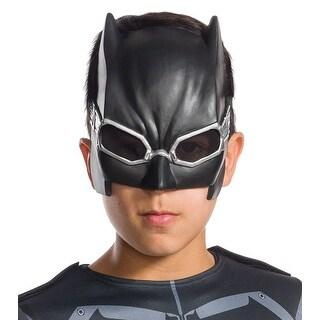 Justice League Movie Tactical Batman Child Costume Mask - Black