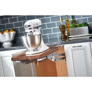 Rev-A-Shelf RAS-ML-HDSC RAS-ML Series Heavy Duty Mixer and Small Appliance Lift Mechanism Without Shelf For Up To 60 Pounds