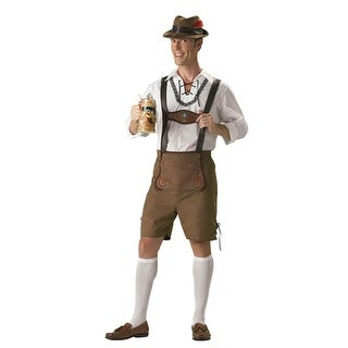 Oktoberfest Guy Hansel Adult Mens Halloween Costume