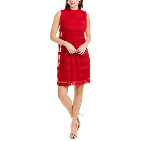Julia Jordan Pleated Shift Dress