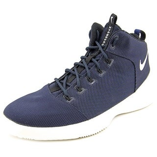Nike Hyperfr3sh Men Round Toe Canvas Blue Basketball Shoe