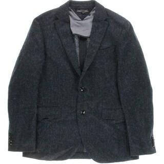Tommy Hilfiger Mens Wool Herrington Two-Button Blazer