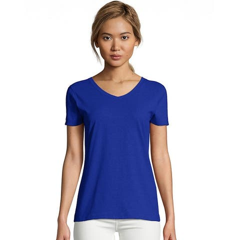 Hanes Women's X-Temp® V-Neck T-Shirt