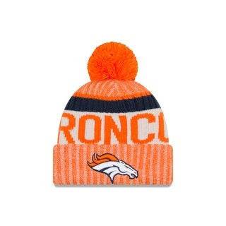 Denver Broncos 2017 On-Field Sport Knit Beanie