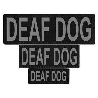 Deaf Dog Removable Side Patches For Unimax & Alpha Harnesses - XS