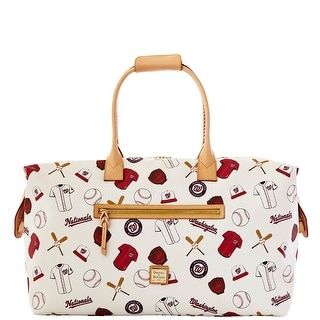 Dooney & Bourke MLB Nationals Duffle (Introduced by Dooney & Bourke at $480 in Feb 2014) - White