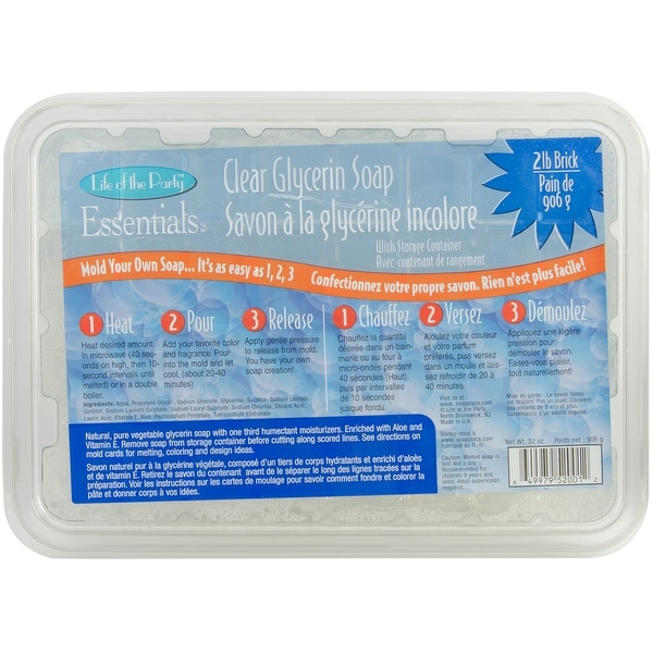 Glycerin Soap 32Oz-Clear