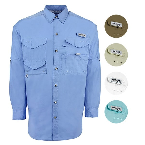 0e112d57 Shop Columbia Men's PFG Bonehead L/S Shirt - Free Shipping On Orders Over  $45 - Overstock.com - 25751105