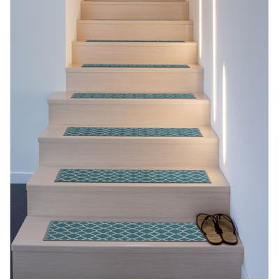 Contemporary Trellis Non-Slip Stair Treads