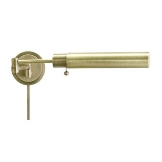 House of Troy WS12-F Swing Arm Wall Sconce from the Vision Lamps Collection