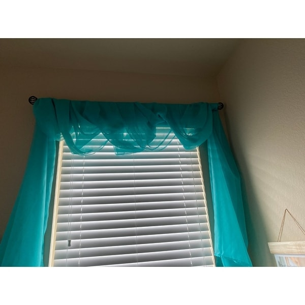 Top Product Reviews For Coppola Single Curtain Rod 5 8 28 48 21425802 Overstock
