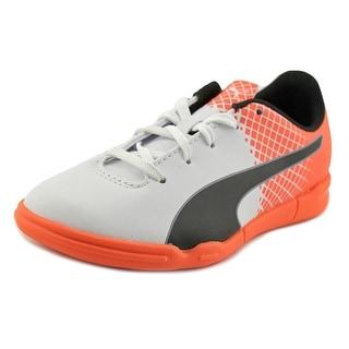 Puma evoSPEED 5.5 IT Jr   Round Toe Synthetic  Sneakers