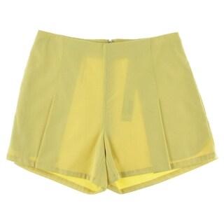 Catherine Malandrino Womens Textured Flat Front Casual Shorts - 4