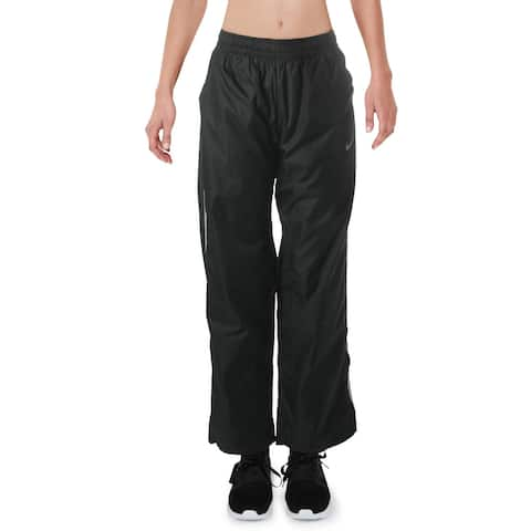 Nike Womens Athletic Pants Fitness Workout - Black - S
