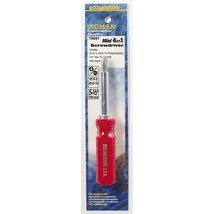 Eazy Power Isomax Contractor Quality 4 In 1 Mini Screwdriver 79691