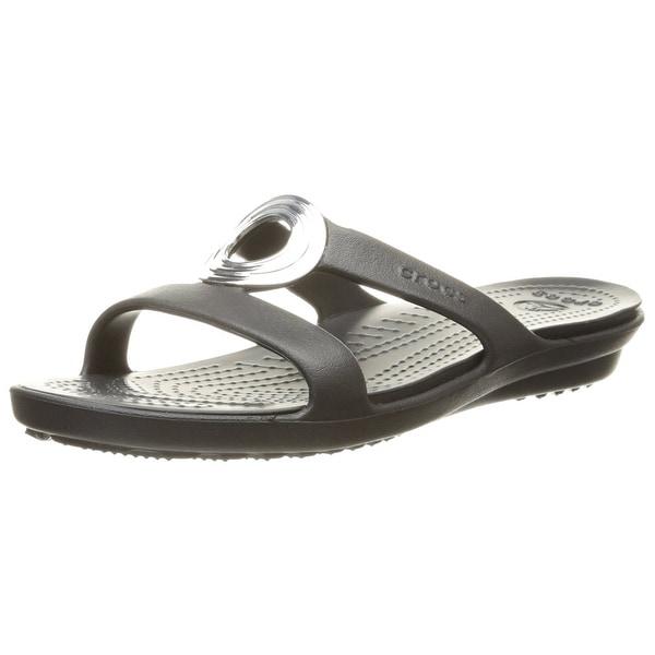 f1e91a61ca84 ... Women s Shoes     Women s Sandals. crocs Women  x27 s Sanrah Beveled  Circle Sandal