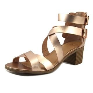 Material Girl Danee Women Rosegold Sandals