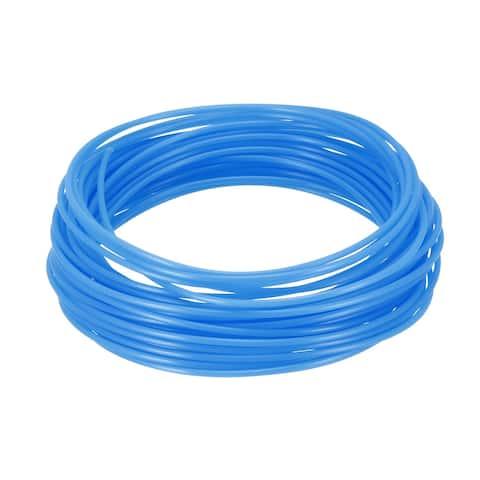 10 Meter/32.5 Ft PLA 3D Pen/3D Printer Filament, 1.75 mm Fluorescent Blue
