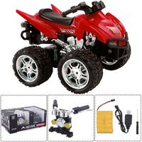 Costway 1/12 Scale 2.4G 4D R/C Simulation ATV Remote Control Motorcycle Kids Car Toys