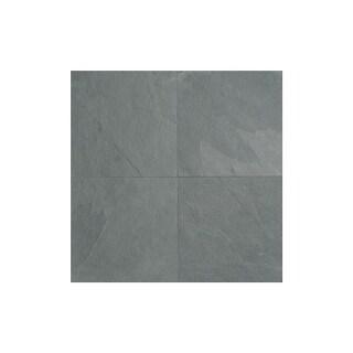"Daltile S1616P2S Slate Collection - 16"" x 16"" Square Multi-Surface Tile - Unpoli - brazil gray - N/A"