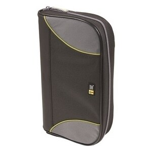 Case Logic CSW-72 BLACK Case Logic 72 Capacity CD Wallet - Book Fold - Nylon - Black